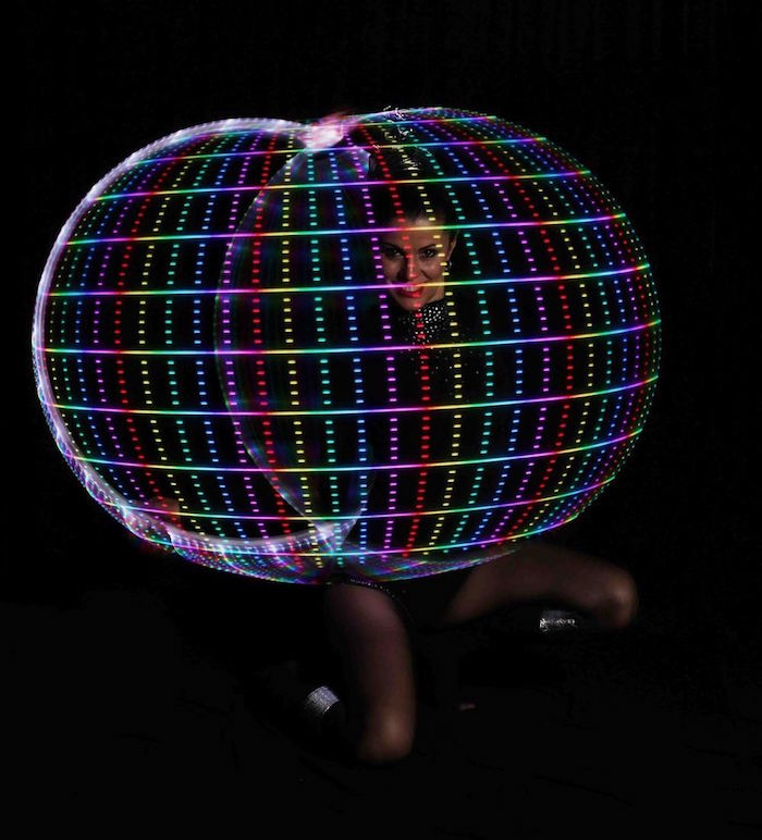 LED Hulahoop Show buchen
